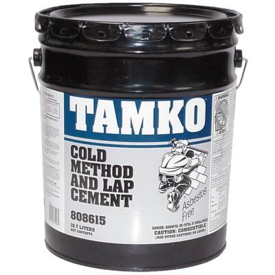 TAMKO 4.75 Gal. Cold Process Lap Cement