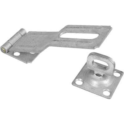 National 4-1/2 In. Galvanized Swivel Safety Hasp