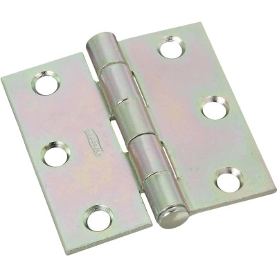 National 2-1/2 In. Zinc Removable Pin Broad Hinge