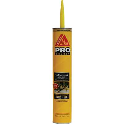 Sikaflex + Self-Leveling Sealant 29 Oz. Sandstone Concrete Sealant