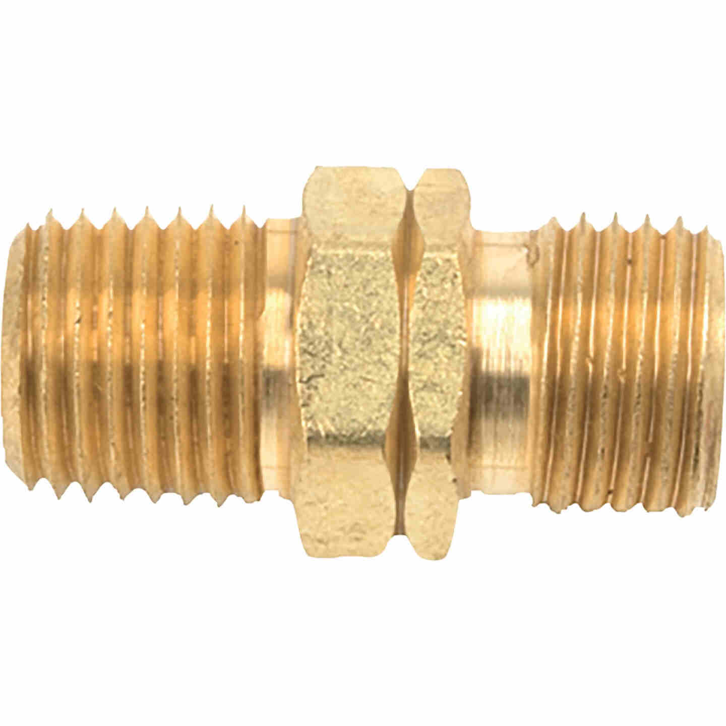 MR. HEATER 1/4 In. MPT x 9/16 In. LHMT Brass Male Pipe Fitting Image 1