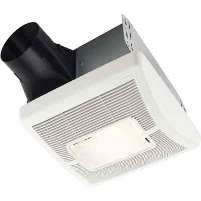 Broan 110 CFM 1.3 Sones 120V Bath Exhaust Fan with Light