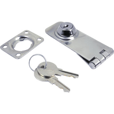 Seachoice 3 In. Keyed Lockable Hasp
