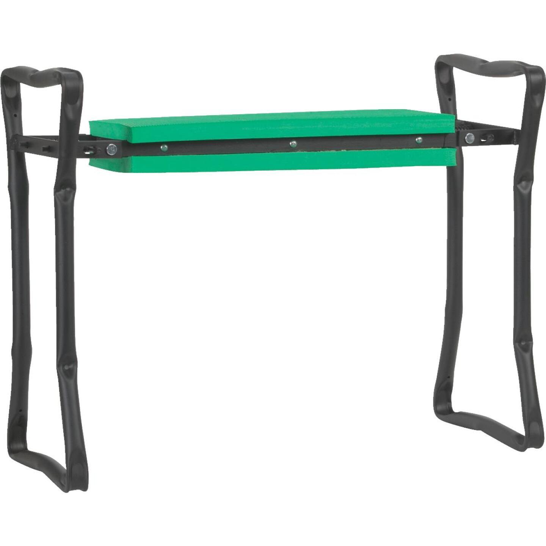 Best Garden Green Foam Pad w/Black Steel Frame Garden Kneeler Bench Image 1