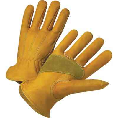 West Chester Protective Gear Men's 2XL Grain Cowhide Leather Work Glove