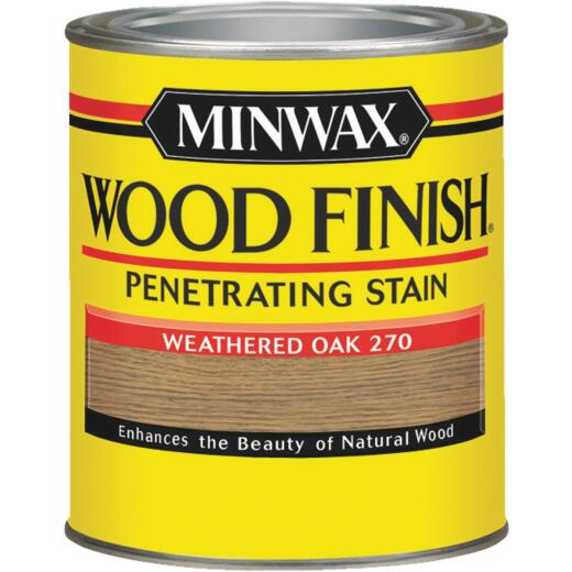 Minwax Wood Finish Penetrating Stain, Weathered Oak, 1/2 Pt.