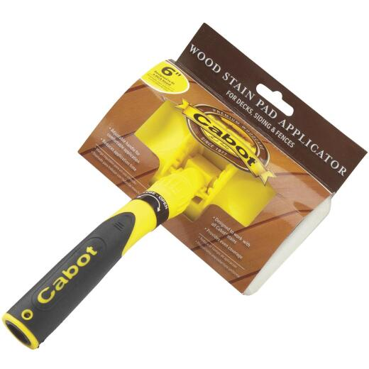 Cabot Synthetic Fabric 6 In. Pad Applicator