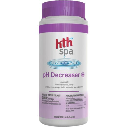 HTH Spa 2 Lb. pH Balancer Decreaser Crystal