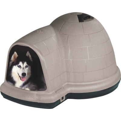 Pet Mate Indigo Taupe & Black Extra Large Dog House For 90 to 125 Lb. Dogs